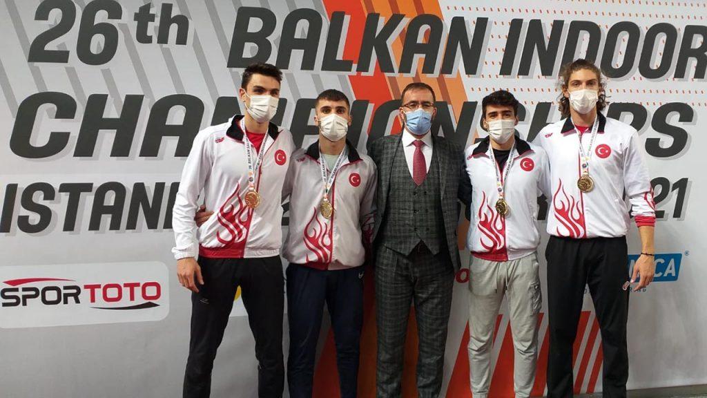Ay Yıldızlı formayı ilk kez giyen İTÜ öğrencisi Balkan şampiyonu oldu